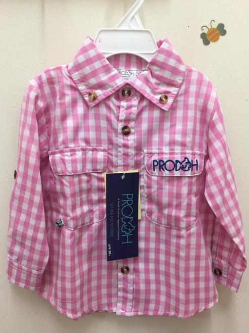 Prodoh Kids   Pink,/ White Plaid