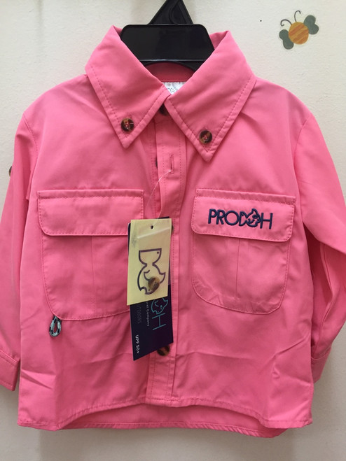 Prodoh Vented pink button down shirt   Pink