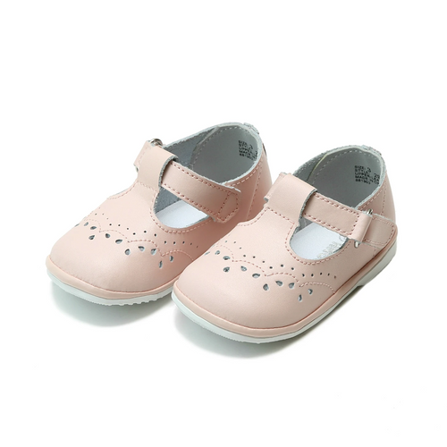 Birdie pink T-strap Mary Jane shoe