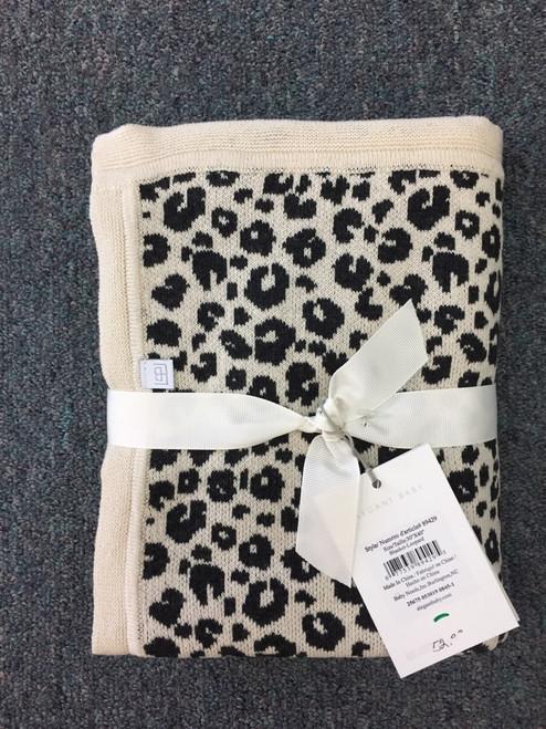Elegant Baby Blanket Leopard   30x40