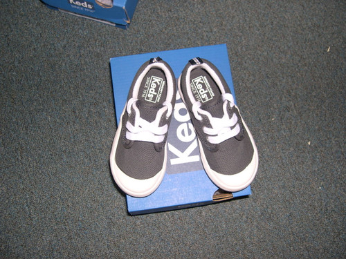 Boys graham navy ked shoe