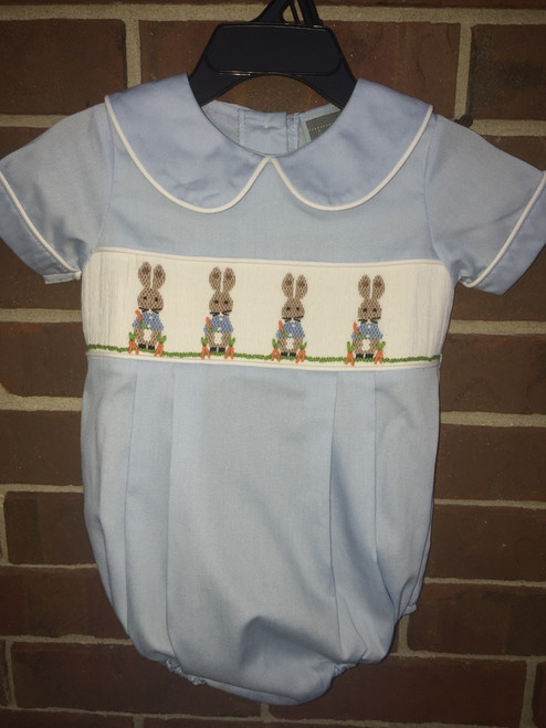 Honesty  Bunny Smocked Bubble