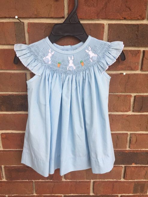 True   Blue Bunny Bishop Dress