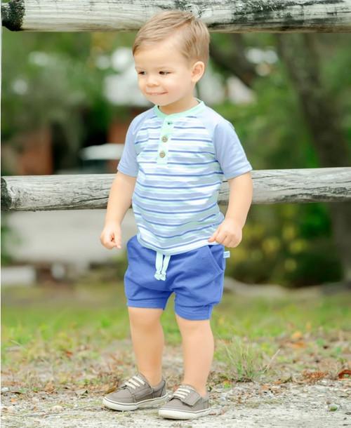 Rugged Butts  Blue Jogger Shorts