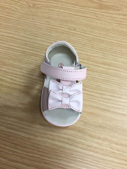 Angel Baby Shoe M224 Double Bow Sandal