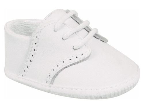 Baby Deer   White Leather Saddle Oxford     2020