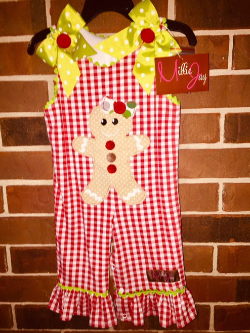Millie Jay   Gingerbread Girls App.  Longall  W/Bo
