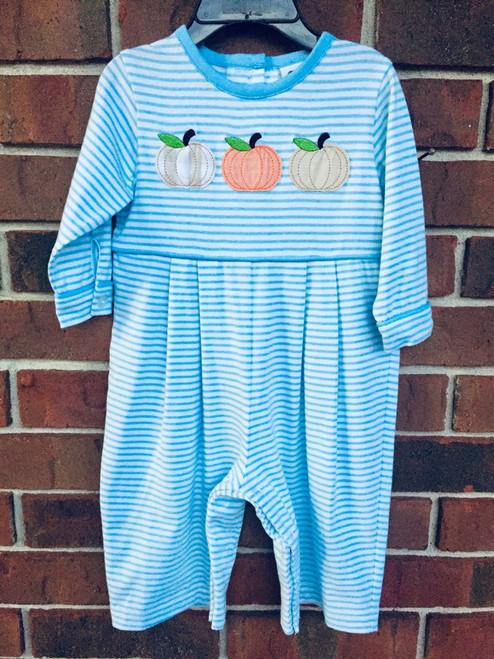 True   Knit Stripe Pumpkin App. Boys Bubble