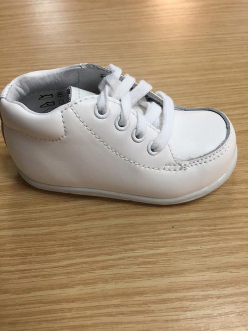 Boys SRT Grayson white shoe