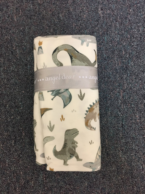 Angel Dear   Crayon Dinosaur Swaddle Blanket