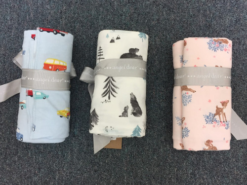 Angel Dear  Woodland Deer Swaddle Blanket