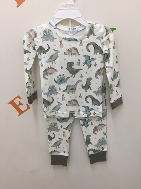 Angel Dear  Crayon Dinosaur Lounge Wear Set