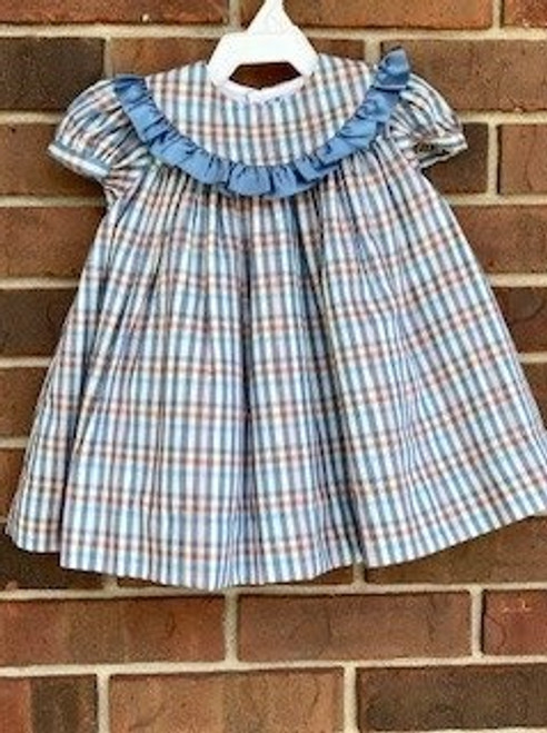 Bailey Boys Blue Plaid dress