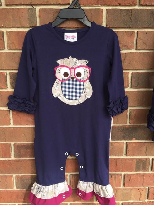 Natalie Grant Owl App Romper