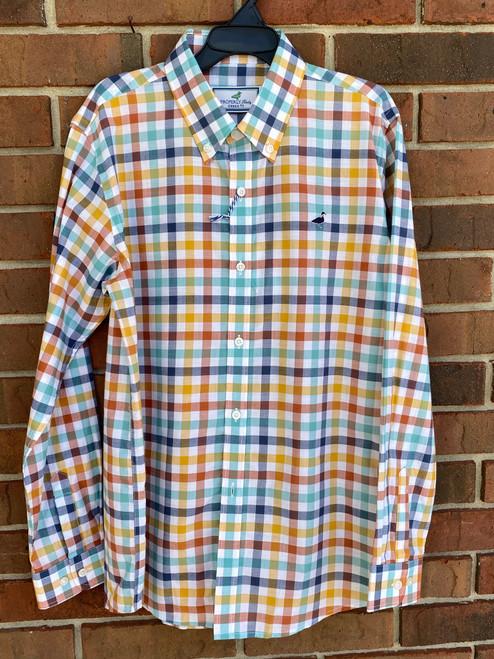 Properly Tied Plaid Long Sleeve Shirt