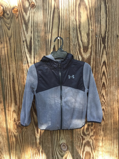 Under Armour Hooded Jacket Black & Gray