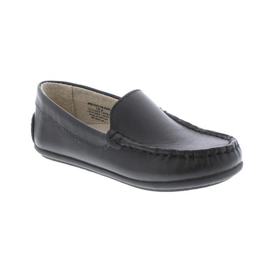 Footmates Brooklyn Black Slip-on Loafer