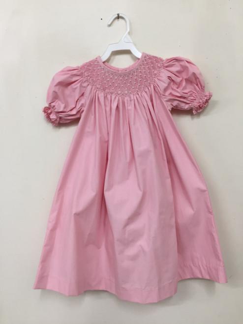 Mom & Me  Smocking Dress    Pink   3227
