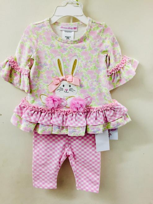 Bonnie Jean   Floral Bunny Set