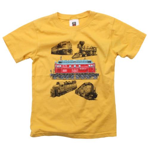 Trains short sleeve T shirt