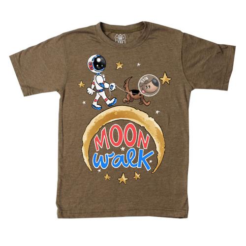 Moon Walk short sleeve T shirt