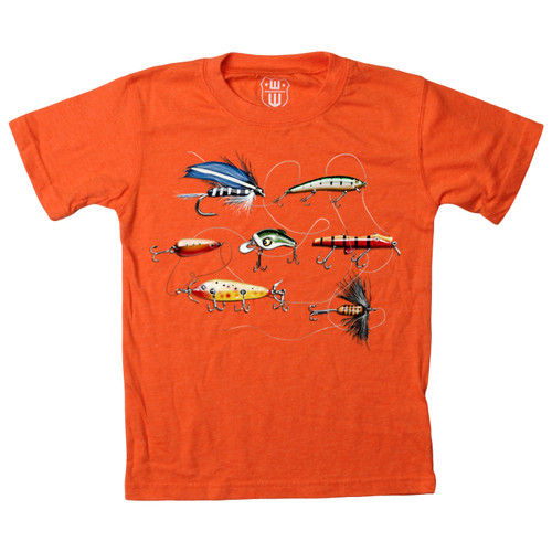 Wes & Willy Fishing Lures short sleeve T shirt
