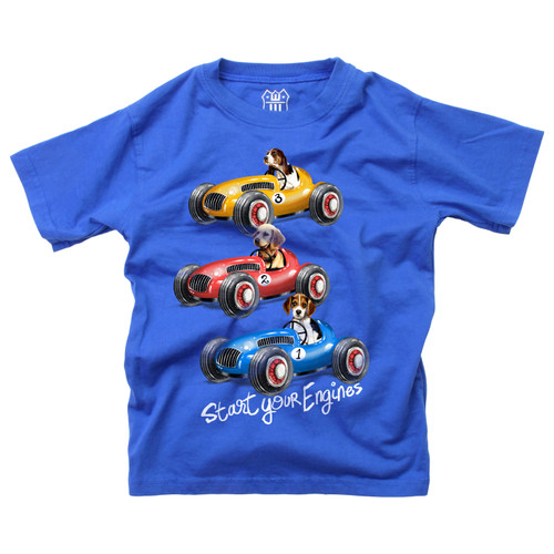 Wes and willy Race cars short sleeve T shirts