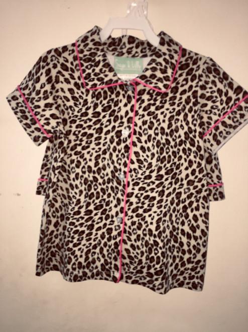 Sage Lilly Lauderdale leopard/ camp set