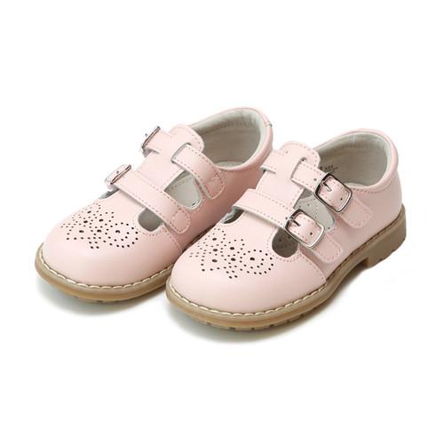 Lamour beatrix double velcro strap shoe