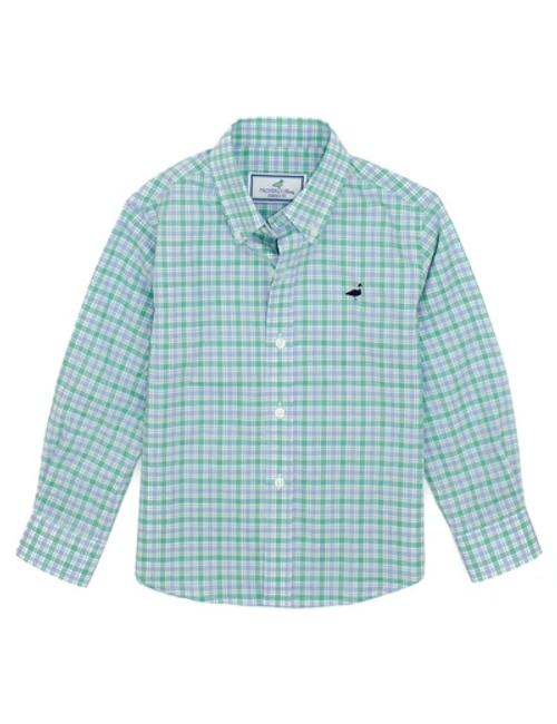 Properly Tied   Sport shirt Saltgrass