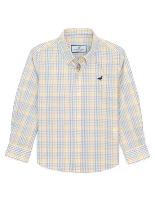 Properly Tied  Sport Shirt Watercolor