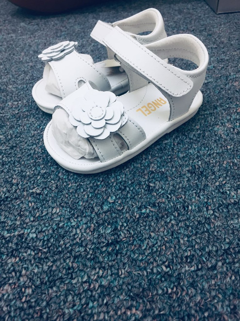 Angel Baby Shoe  Flower Cut out Sandal  K138