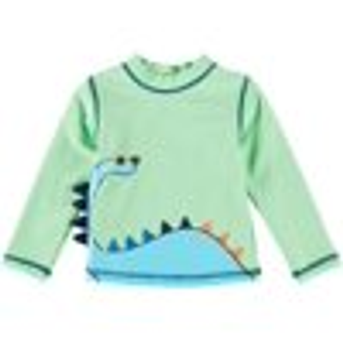 Little Me  Dino LS Rash Guard Cover Up