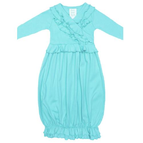 Lemon Loves Layette Long sleeve jenna gowns