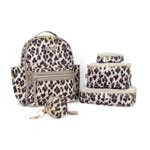 Leopard itzy Mini Diaper bag Backpack