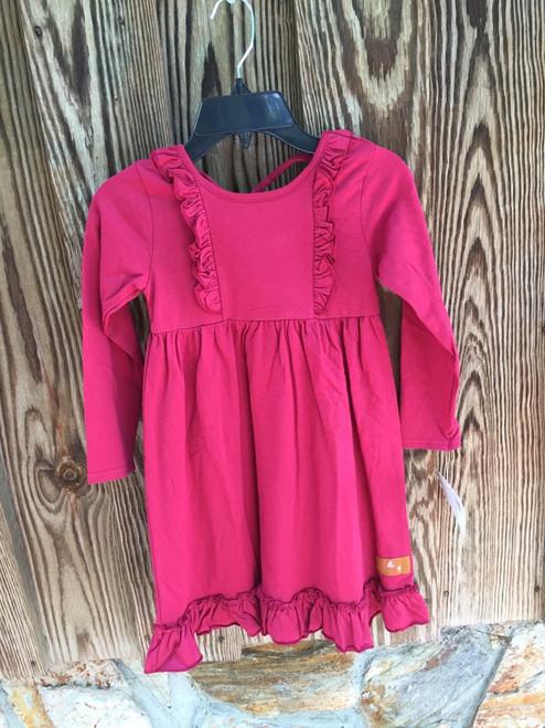 Millie Jay  Claire Crossback Dress -Cinnamon