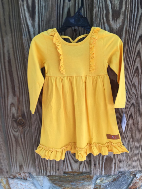Millie Jay  Claire Crossback Dress --Mustard