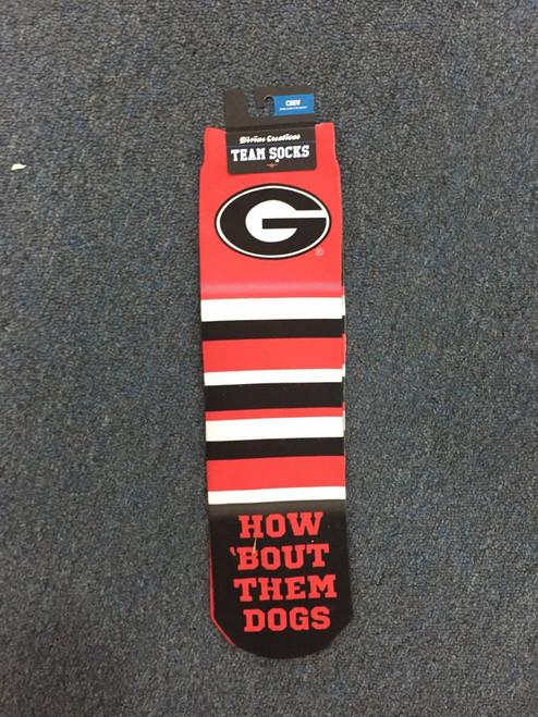 GA team crew socks