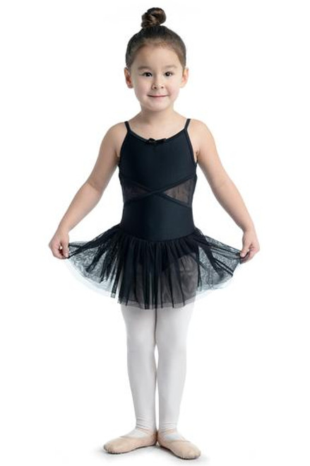 Danz n Motion  Cami Dress With Lace Black
