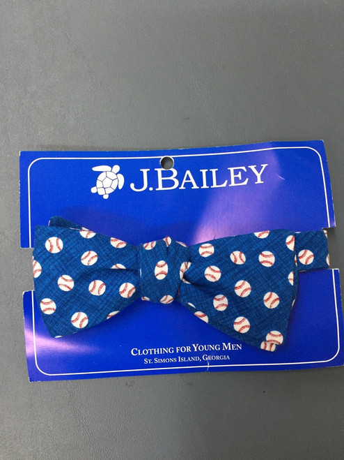 Base Ball Bow tie
