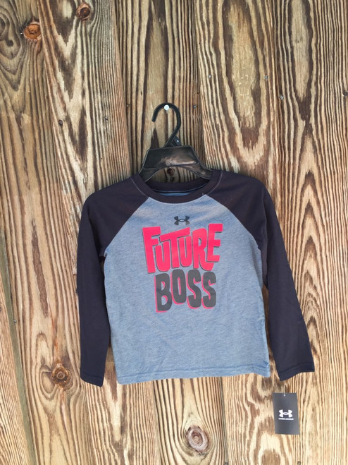 Under Armour,   LS Tee  Pitch Gray