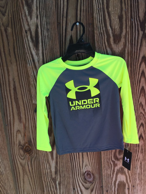 Under Armour,  L S Tee Pitch Gray