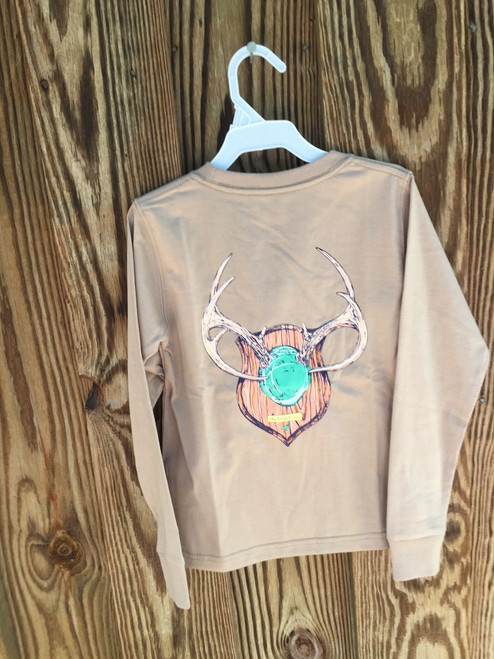 Properly Tied Performance LS Tee antler Mount Sand
