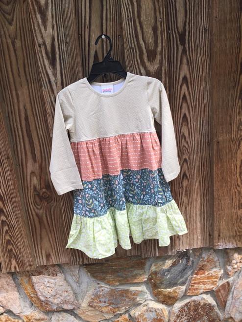 Fall Twirl Dress   Vintage