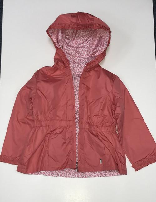 Flamingo Ruffled Rain Jacket