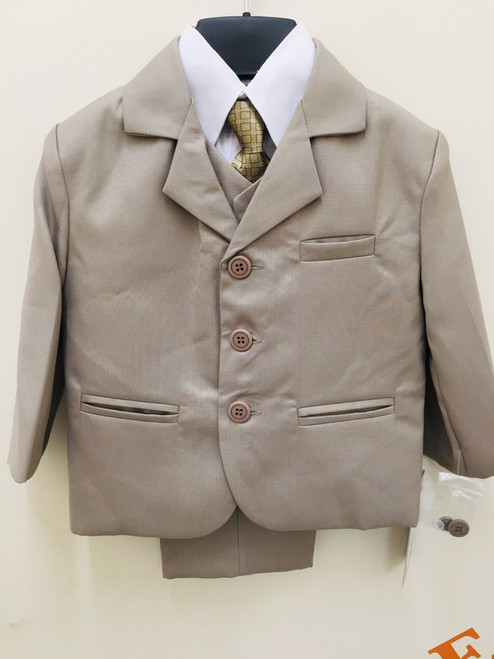 Three Button boys suit