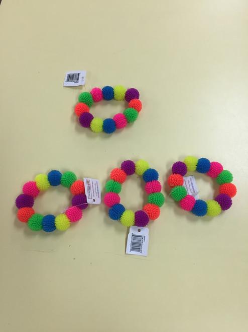 Pom Pom gummy bracelet