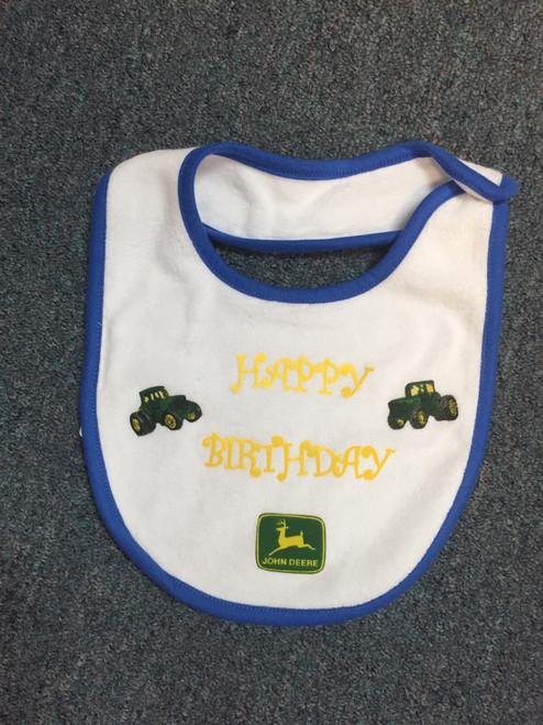 Happy Birthday John Deere Bibs