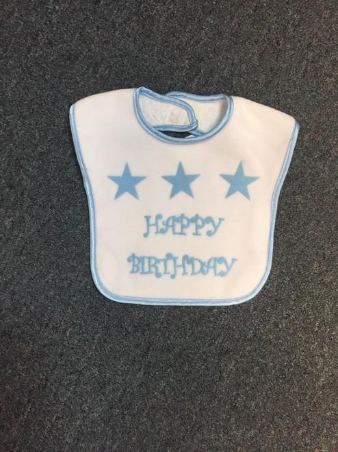 Happy Birthday star Bibs