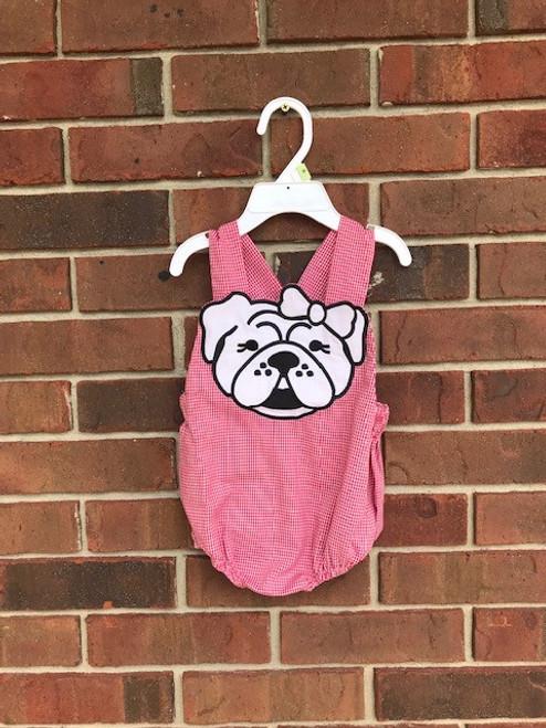 Girl's Georgia Bulldog Bubble